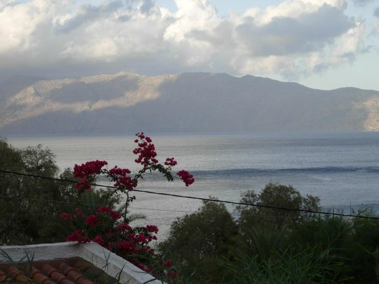 Vista del Mar Bungalows: Panorama from the garden