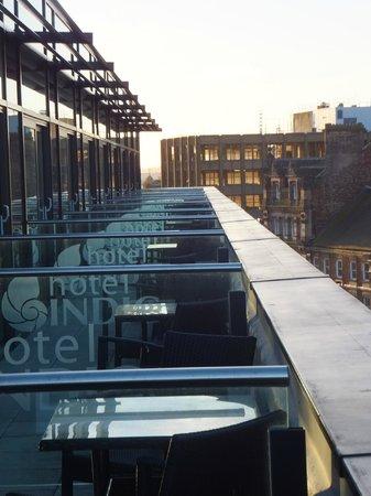 Hotel Indigo Newcastle: Balcony
