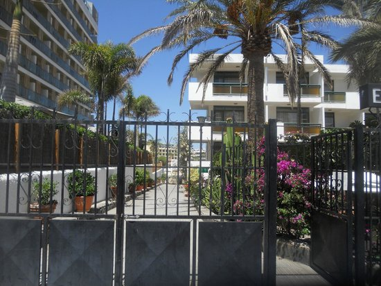 Apartamentos El Palmar: front