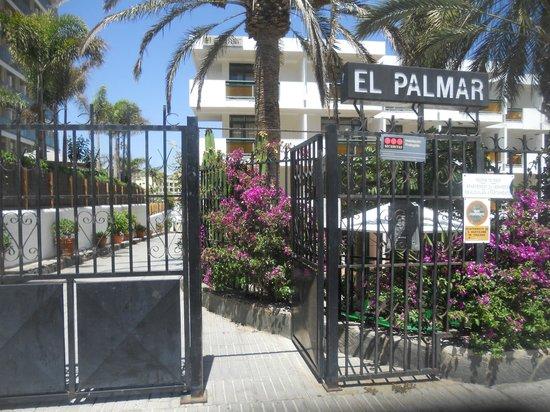 Apartamentos El Palmar: gate