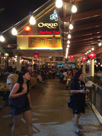 Orkid Ria Seafood Restaurant : lovely venue