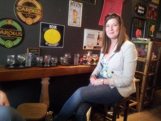 T' Brugsch Bieratelier : Full range of drinks were tried :)