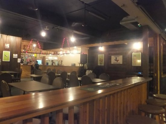 Texas Grill restaurant and bar: Interior... downstairs of eatery