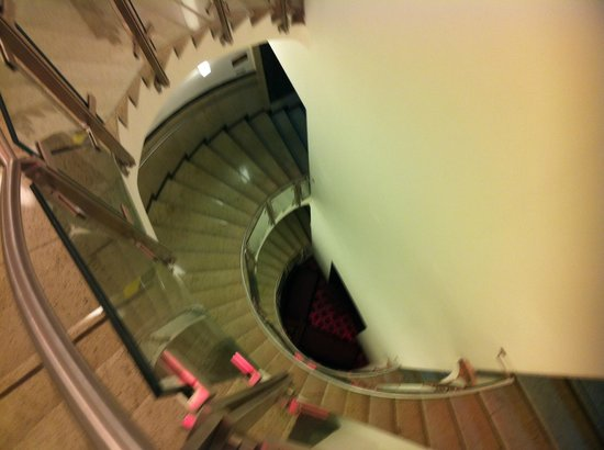 NYX Prague: Hotel Stairs 'You can do it'