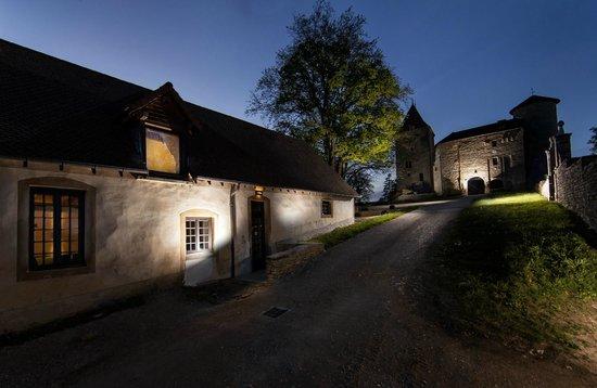 Château De Marigna : Vue générale de nuit