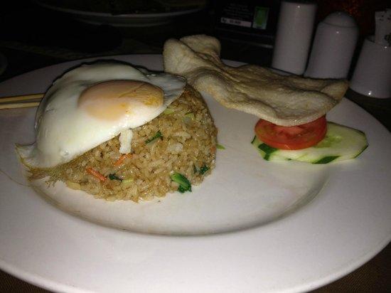 Moo Moos Steakhouse Bar and Grill: Nasi Goreng