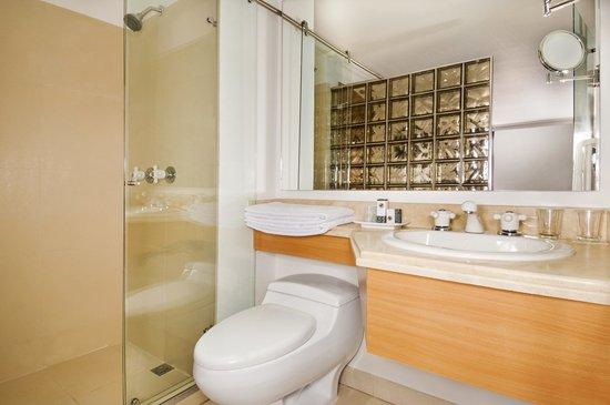 Hotel Egina Bogota: Junior Suite Bathroom