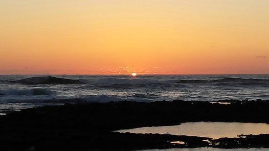 Sottovento: Cena e tramonto