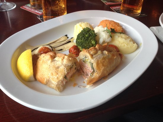 O'Malley's : salmone in crosta