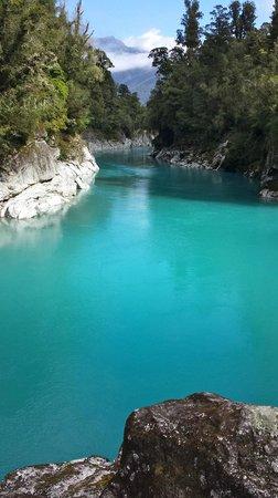 Hokitika Gorge Walk: Beautiful True colour