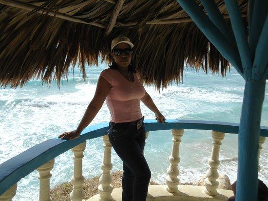Hotel Playazul : Desde la terracita