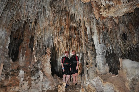 Rio Secreto : På plats i grottan