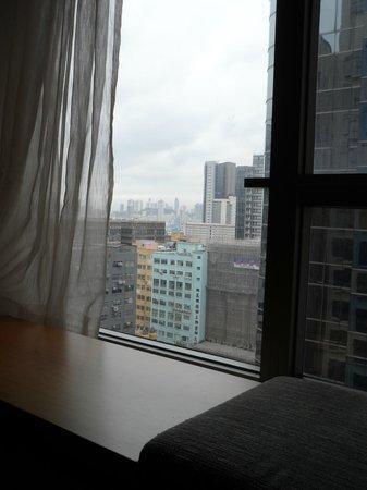 L'hotel elan: Вид из окна