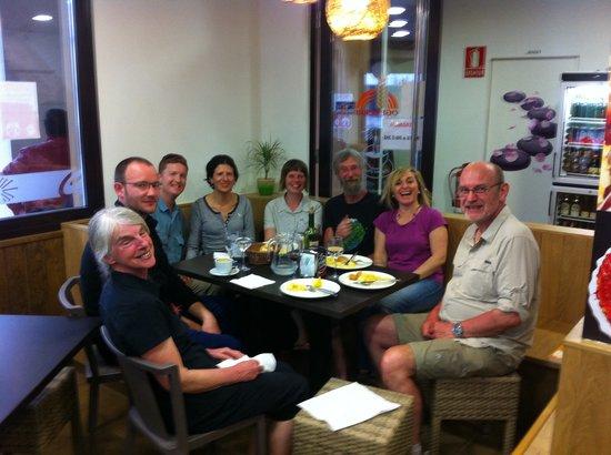 Zubiri, España: Un grupo muy majo y divertido