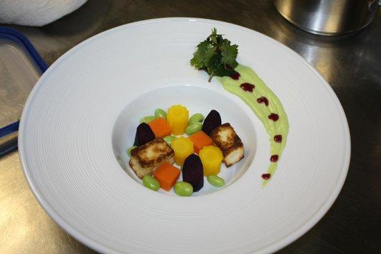 Krone Sihlbrugg: Rübli Tofu