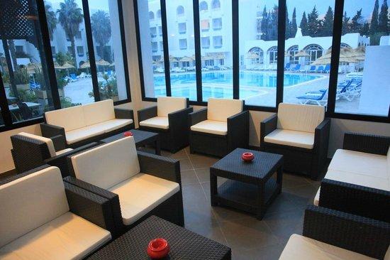 Hotel Menara: Lounge  terrasse