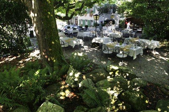Krone Sihlbrugg: Garten