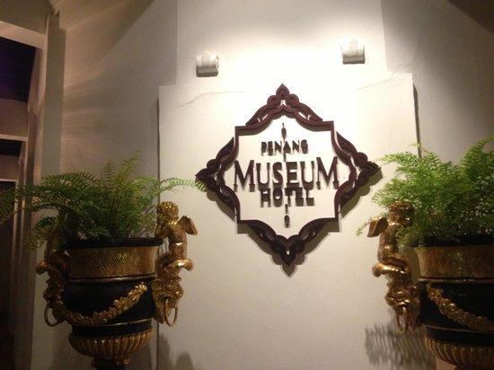 Museum Hotel: 看板
