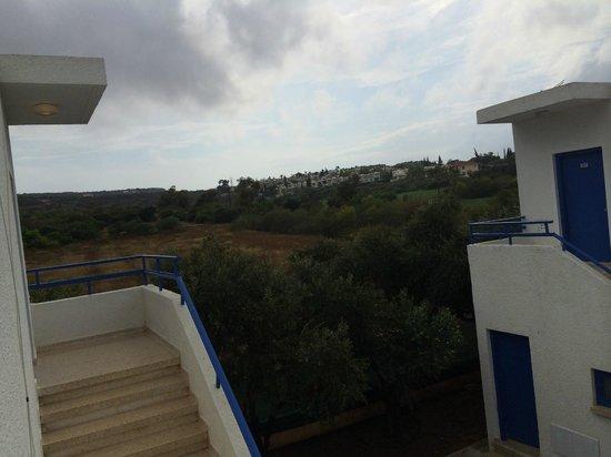 """Flokkas Hotel Apts.: Back view """"Mountains"""""""
