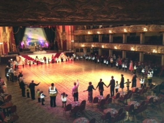 The Blackpool Tower Ballroom: School Lesson in Ballroom