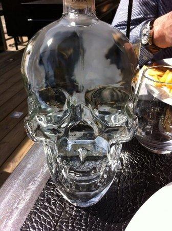 Unic Brasserie : La vodka de la mort ;-)
