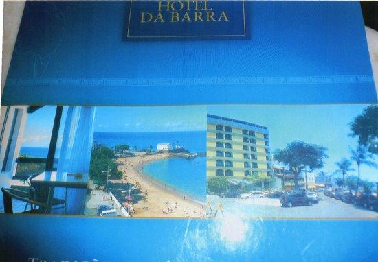 Grande Hotel Da Barra: Hotelprospekt mit uralten! Fotos (Strand vor 20 Jahren)