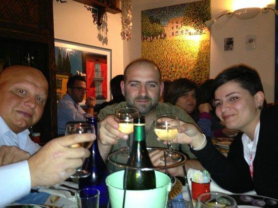 Trattoria Al Graspo : Splendida compagnia!!