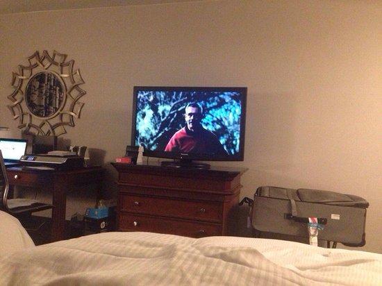 Hilton Concord: Television in Room