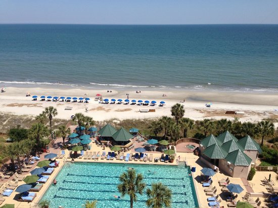 Hilton Head Marriott Resort & Spa: View from room 916
