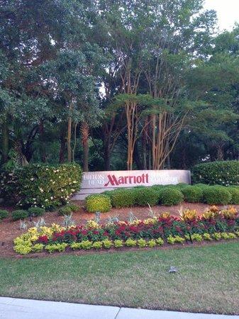 Hilton Head Marriott Resort & Spa: Welcoming entrance