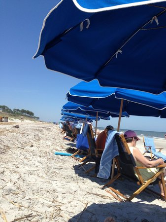 Hilton Head Marriott Resort & Spa: The cabanas are worth the cost!