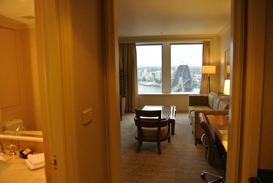 Shangri-La Hotel Sydney : Livingroom