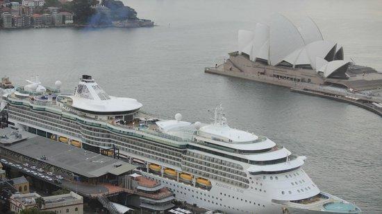 Shangri-La Hotel Sydney : view