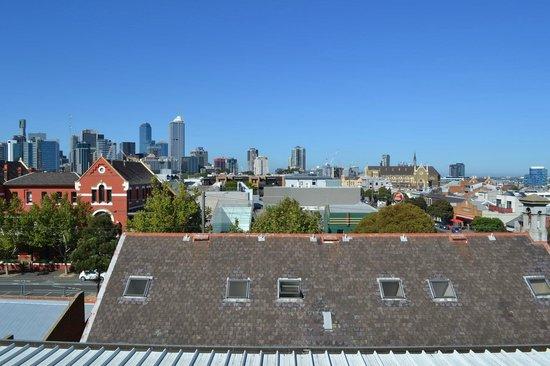 Melbourne Metro YHA: Вид с крыши