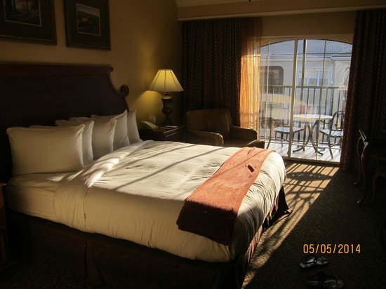 Hilton Grand Vacations at Tuscany Village : our room