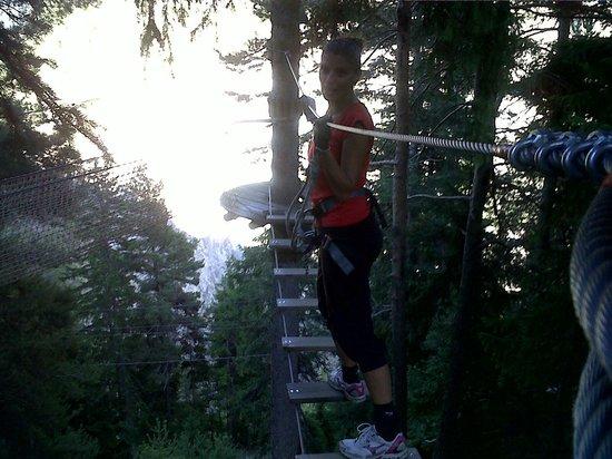 Parco Avventura Mont Blanc: Pedana