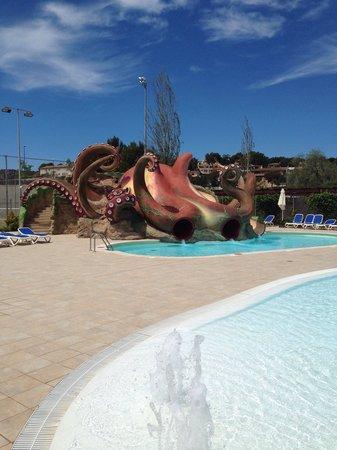 Aparthotel Rosa del Mar: The octopus 2x Slides