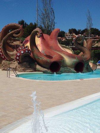 Aparthotel Rosa del Mar: The Octopus slide