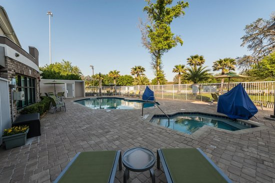 Holiday Inn Express & Suites Jacksonville - Blount Island: Pool and Heated Spa