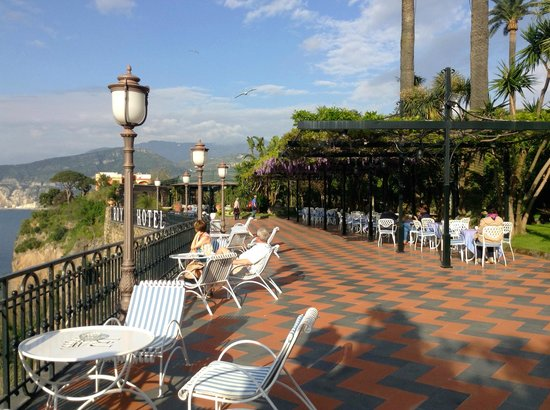 terrazza - Picture of Grand Hotel Royal, Sorrento - TripAdvisor