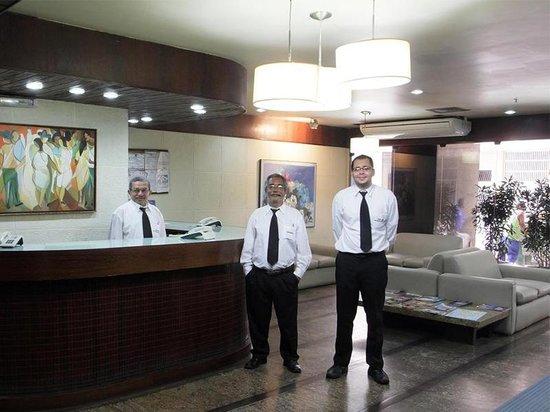 Atlantico Palace Hotel Residencia: Recepção