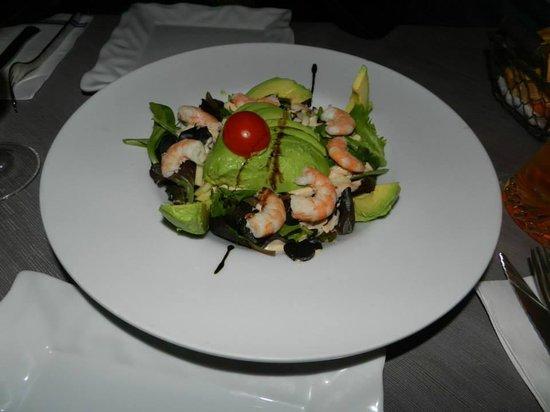 LA VACA AZUL: ...insalata di avocado
