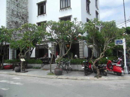 Chu Hotel Danang: bas de l hotel chu