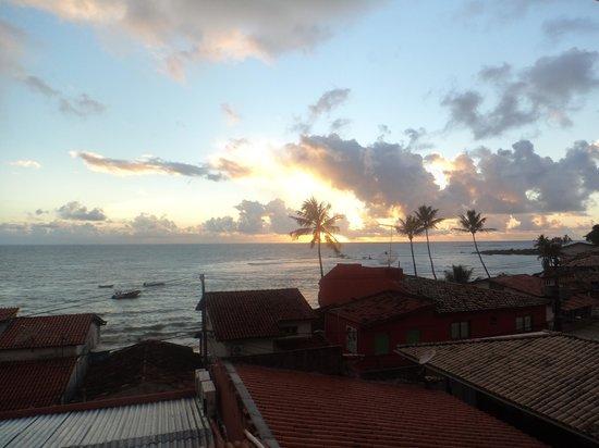 Hotel Pousada Ilha da Saudade: Vsta do Apto Vista Mar em que fiquei