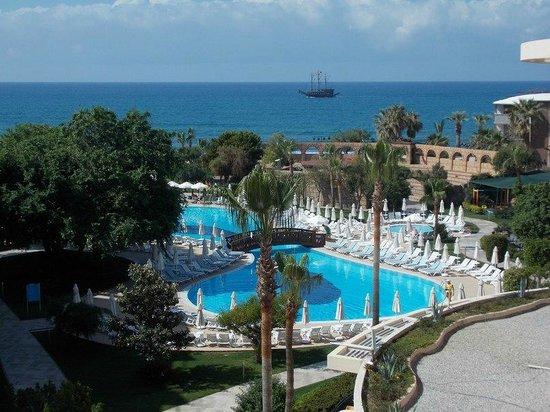 Palmeras Beach Hotel: Вид из номера