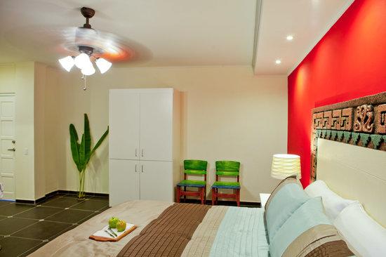 L'aldea: Hotelroom