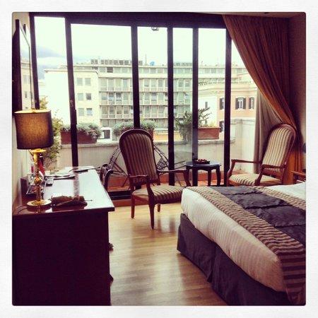 Hotel Alpi : deluxe room top floor