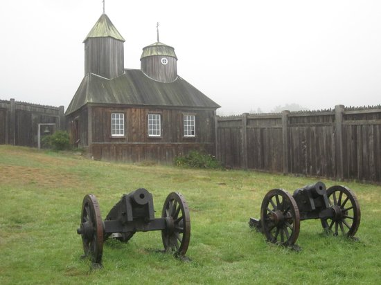 """Fort Ross State Historic Park: The Russian Orthodox Chapel - """"the original structure"""""""