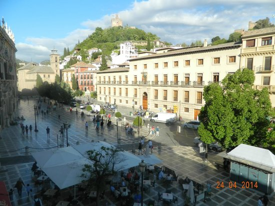 Plaza Nueva Hotel: vistas desde el balcon