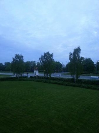 Northborg, Dinamarca: View from room no 23  in May 5:30AM